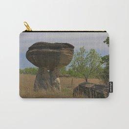 Kansas Mushroom State Park Carry-All Pouch