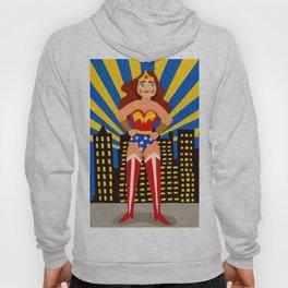 Superhero Woman Hoody