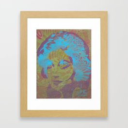 Glamor Girl Framed Art Print
