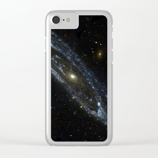 Andromeda Clear iPhone Case