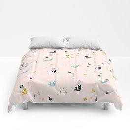 Cute Mermaid pattern Comforters