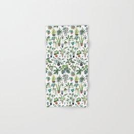 plants and pots pattern Hand & Bath Towel
