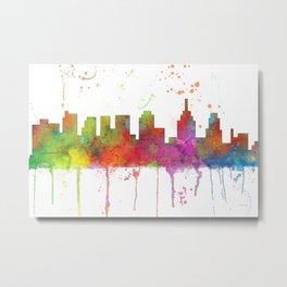 Philadelphia, Pennsylvannia Skyline  Metal Print