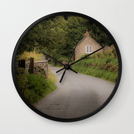 Dovedale Trail Cottage Wall Clock