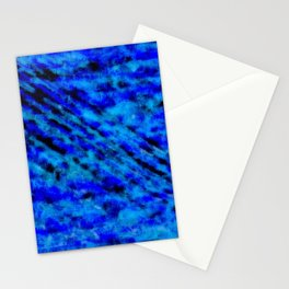 Color gradient and texture 23 dark blue Stationery Cards