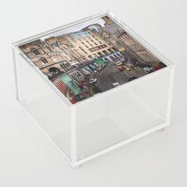 Victoria Street in Edinburgh, Scotland Acrylic Box