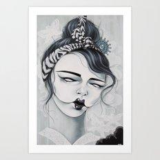 Miss Tigre Art Print