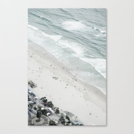 Surfers Paradise: Birds Eye View IV Canvas Print