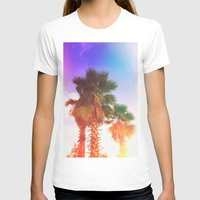 palms T-shirts featuring Palms by Neon Wildlife
