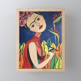 Frida Khalo Painting Framed Mini Art Print