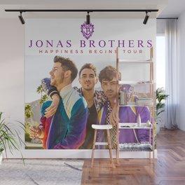 JONAS BROTHERS HAPPINESS BEGINS LIVE TOUR DATES 2020 ASAMJAWA Wall Mural
