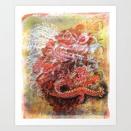Awakening of the Dragon Art Print
