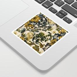 Warm Winter Garden Sticker