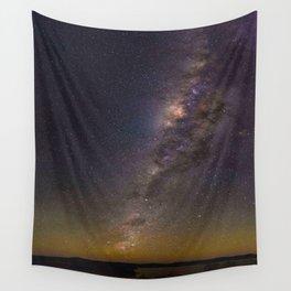Milky Way Galaxy Star Night Sky Night Time Wall Tapestry