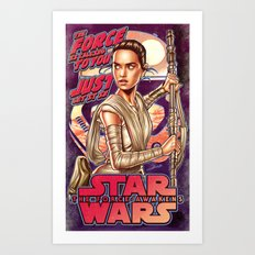 The Force Is Calling To You Art Print