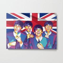 The Beatle Metal Print