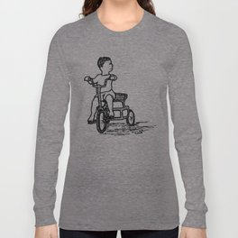 Little Tricycle Long Sleeve T-shirt