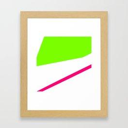 radiate 537 Framed Art Print