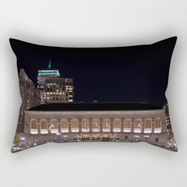 Boston Public Library Rectangular Pillow