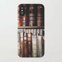 literature iPhone & iPod Cases featuring Art & Literature by czossi