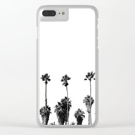 101 Palm Trees Clear iPhone Case