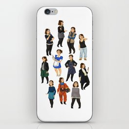 Every Clara Outfit Ever   S9 iPhone Skin