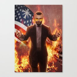 Righteous Fire Canvas Print