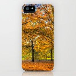 Greenwich Park London iPhone Case
