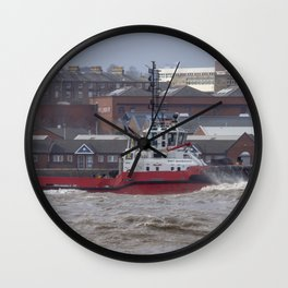 Smit Barbados Tug Wall Clock