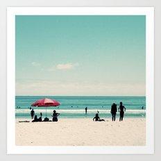 Kiwi Summer Art Print