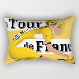 Tour De France cycling grand tour Rectangular Pillow