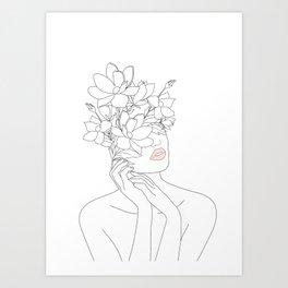 Face Art Prints | Society6