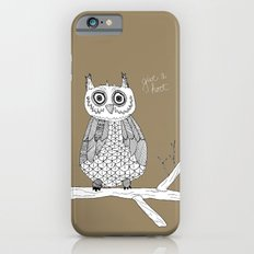 Give A Hoot iPhone 6s Slim Case