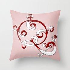 Alphabet Q Throw Pillow