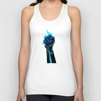 dragon age Tank Tops featuring Dragon Age- Ander's Manifesto by Tori Mckenna