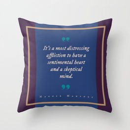A Most Distressing Affliction Throw Pillow