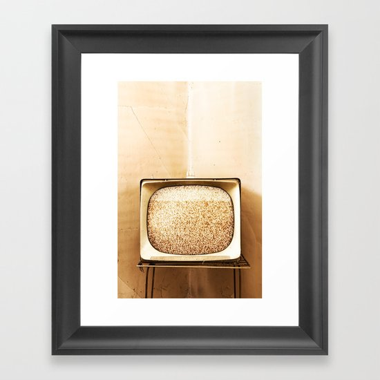 Static Box Framed Art Print
