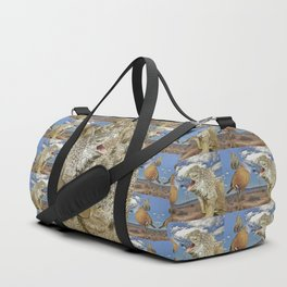Tourists in Namaqualand at Night Duffle Bag