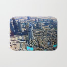 View from the Burj Khalifa Bath Mat