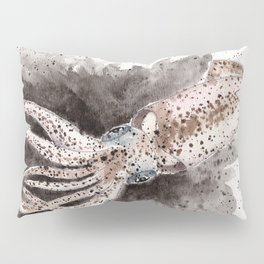 Squid ink and tentacles Pillow Sham