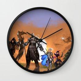 Vox Machina Wall Clock