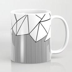 Ab Lines White Mug