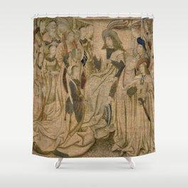 Ester Presented to Ahasuerus Shower Curtain