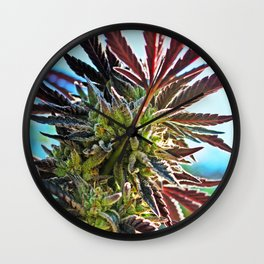 Beauty Bud Wall Clock
