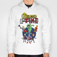 avenger Hoodies featuring Avenger Time by MattHercock