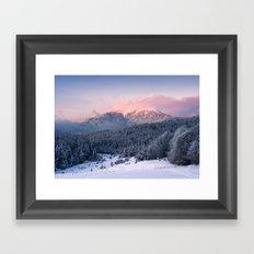 Mountain II Framed Art Print