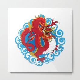 Chinese Dragon Metal Print