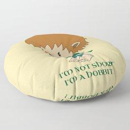I'm not short, I'm a hobbit Floor Pillow