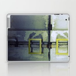 A Yellow Square Laptop & iPad Skin