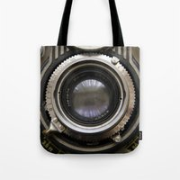 photographer Tote Bags featuring photographer by Da Axw